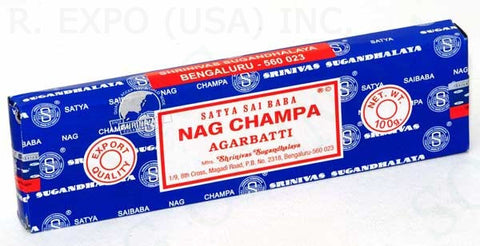 Genuine Nag Champa Incense Sticks