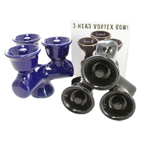 3-Head Vortex Bowl