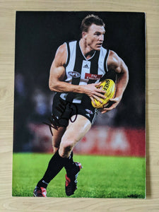 Collingwood Football Club Nathan Buckley Picture Hand Signed