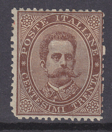 Italy SG 35 30c brown Mint Stamp