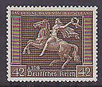 Germany SG  659 1938 Brown Ribbon horse racing Michel 671 MUH