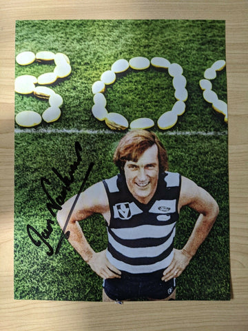 Geelong Football Club Ian Nankervis Hand Signed Picture