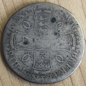 1684? UK Great Britain Silver Crown Coin Charles 11