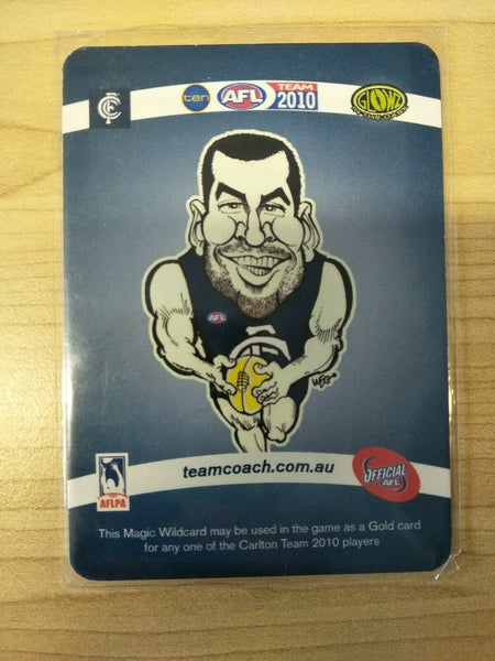 2010 Teamcoach Magic Wildcard Andrew Walker Carlton MW-03