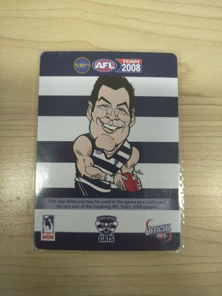 2008 Teamcoach Star Wildcard Jimmy Bartel Geelong SW-07