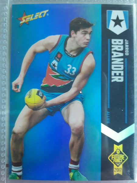 2017 Select Future Force Blue Foil Parallel Jarrod Brander Allies 095/110