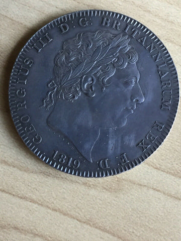 1819 UK Great Britain George 111 Crown Coin