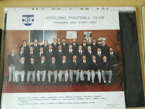 1992 Geelong Football Club Trainers And Staff 1992