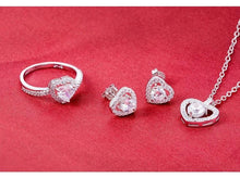 Load image into Gallery viewer, Forever Love Sterling Silver Set