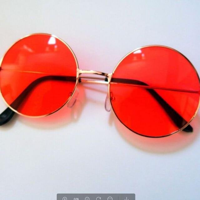 Fashion Retro Round Sunglasses