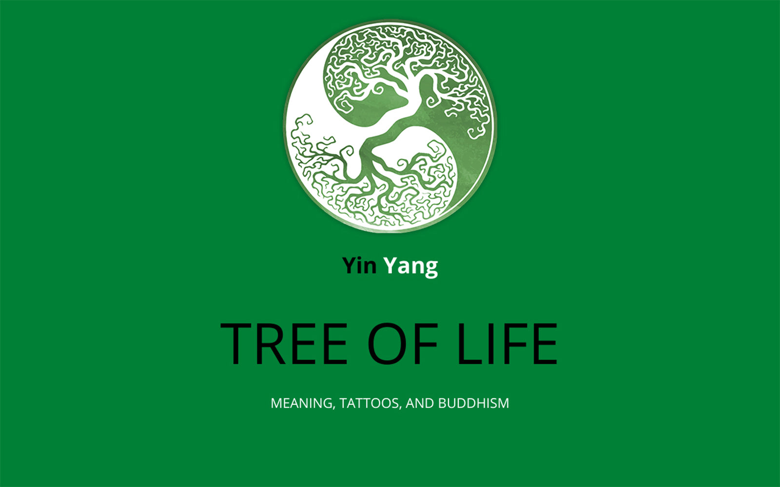 Yin Yang Tree of Life Meaning