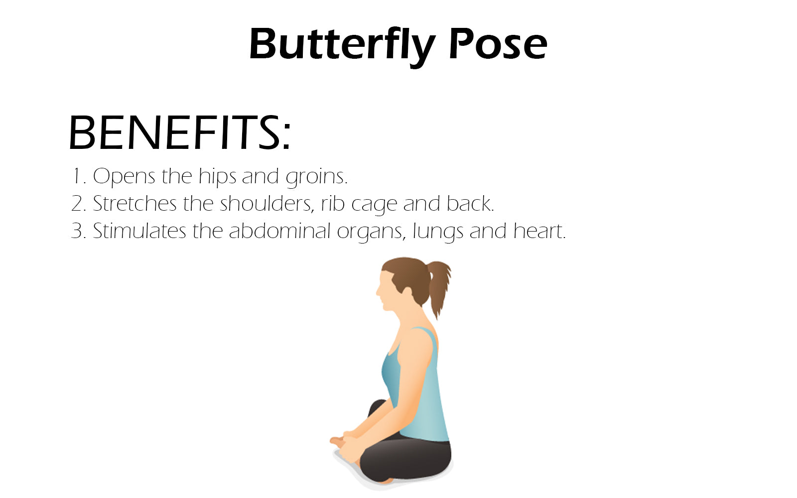 butterfly pose benefits