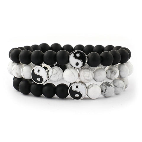 Black and White Balance Bracelet