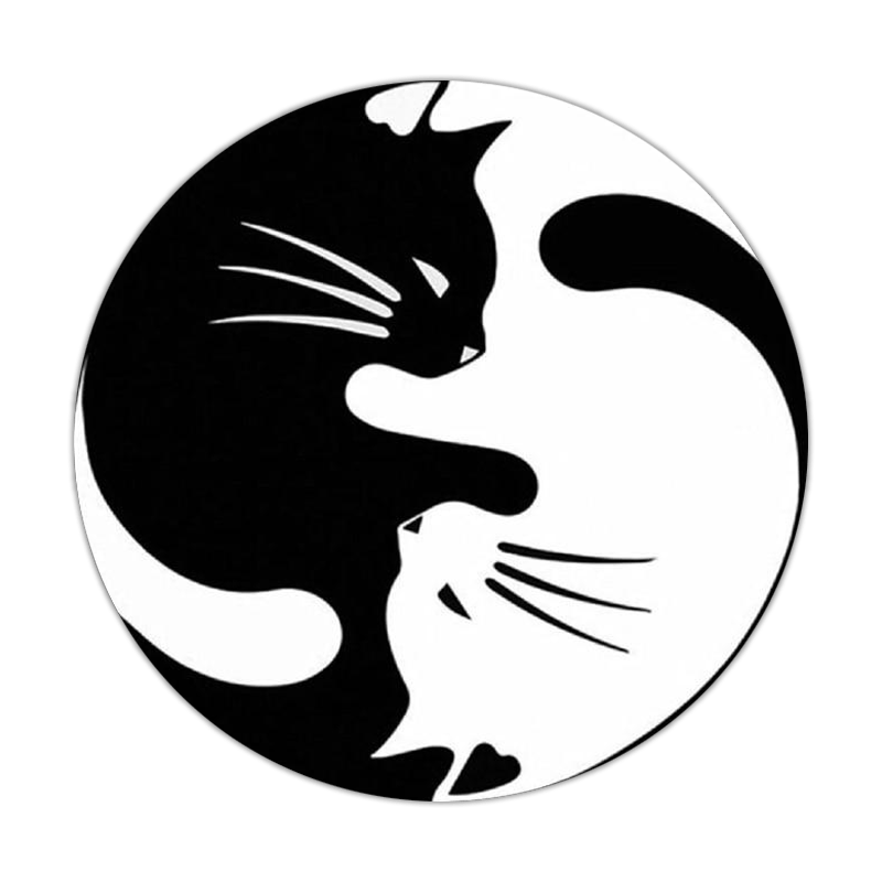 Yin Yang Diamond Painting<br> Cats