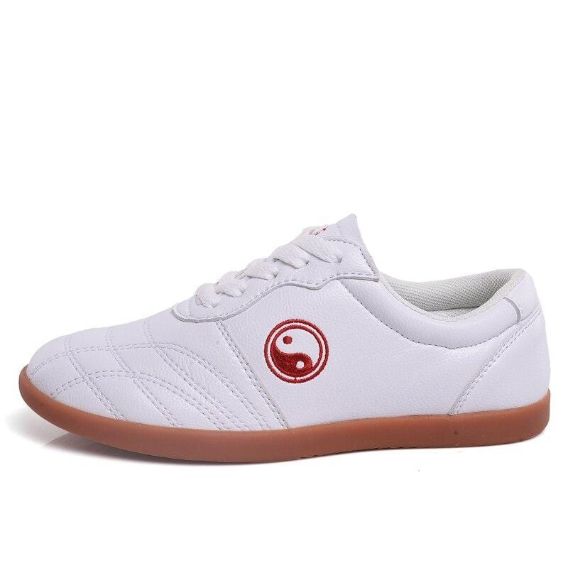 tai chi shoes leather sole
