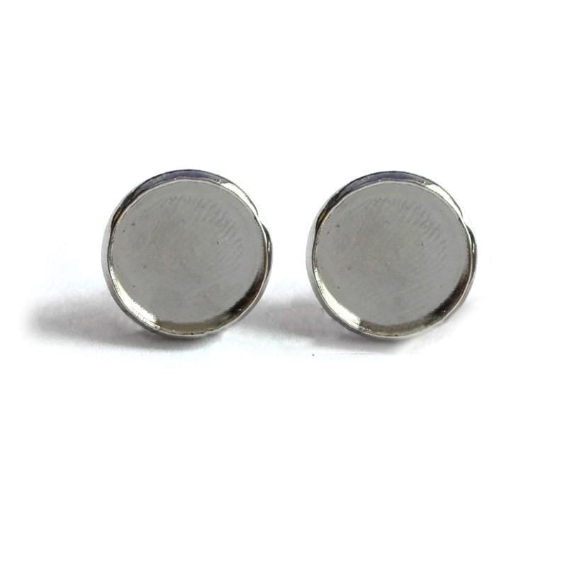 Yin Yang Earrings<br> Blue Souls