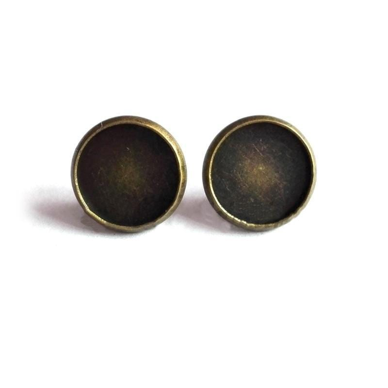 Yin Yang Earrings<br> Earth