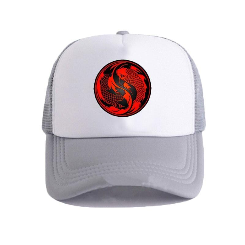 koi fish dad hat