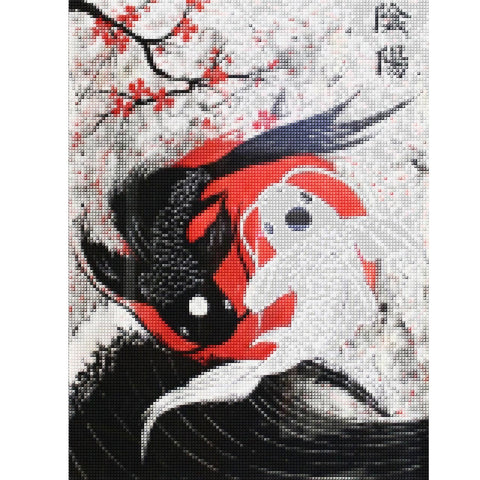 koi fish diamond painting