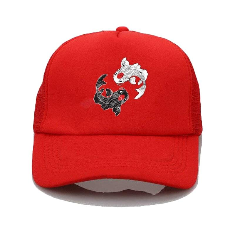 koi fish hat