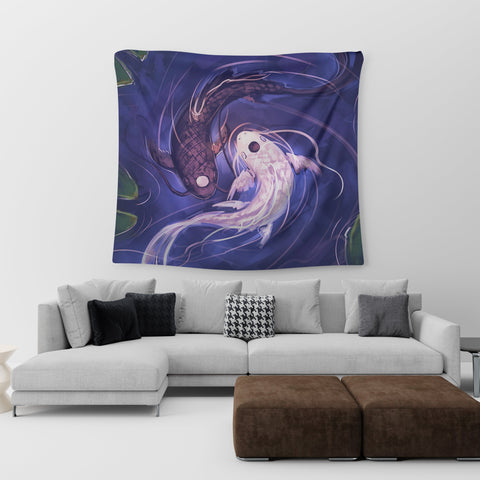 Koi Fish Wall Tapestry
