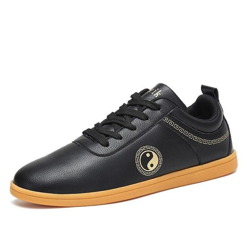 martial arts shoes black