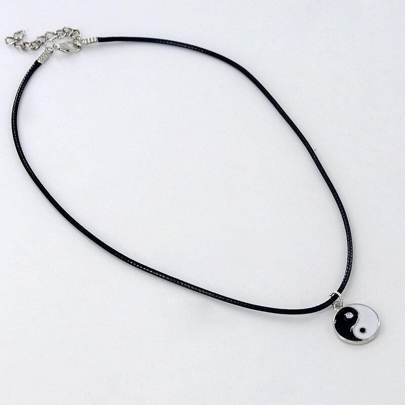 mens yin yang necklace