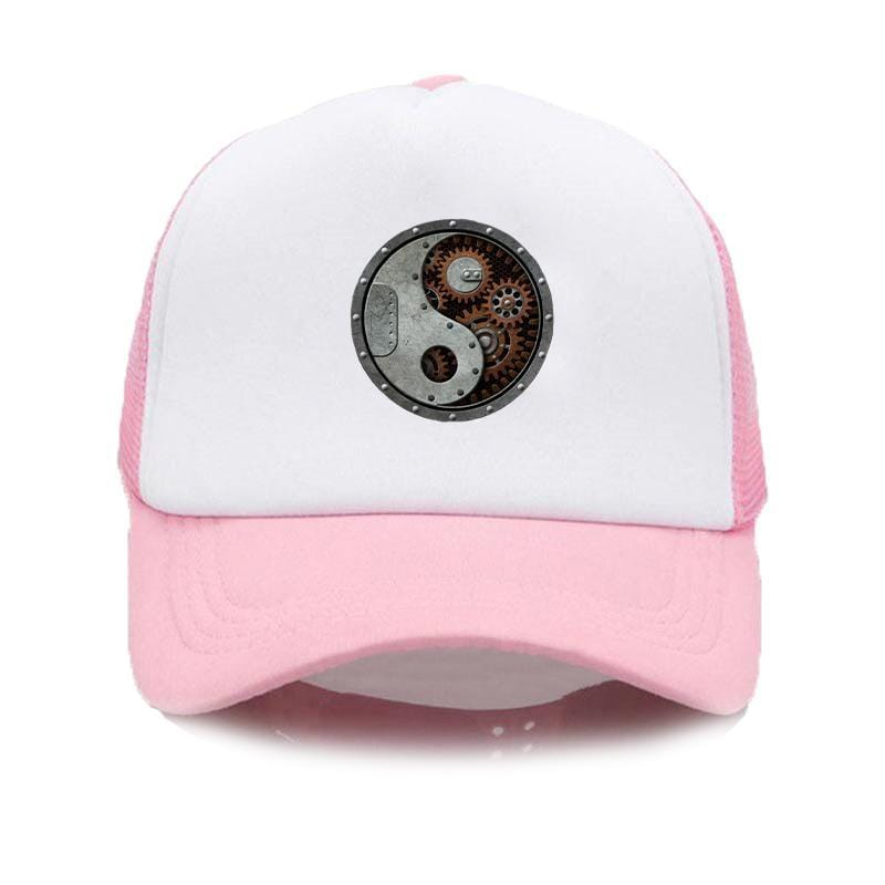 pink steampunk hat