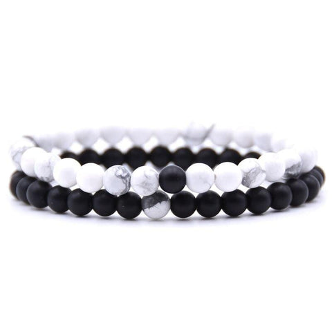 Yin and Yang Couple Bracelet