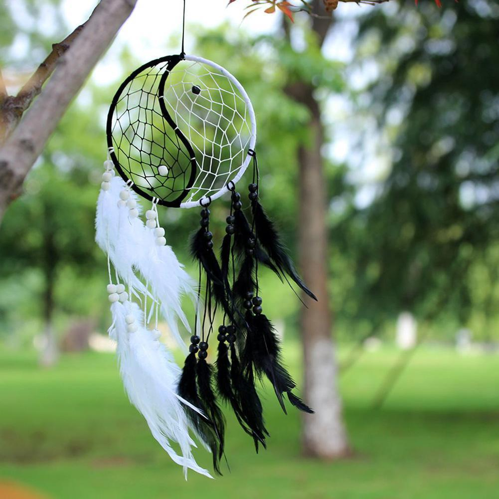 dream catcher black and white