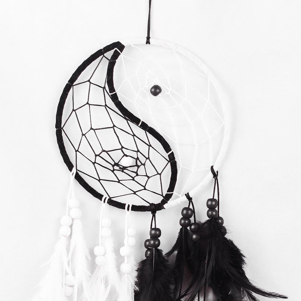 how to make yin yang dream catcher