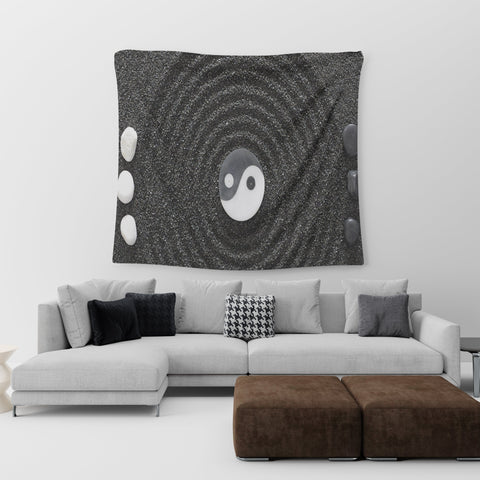 Yin and Yang Wall Tapestry