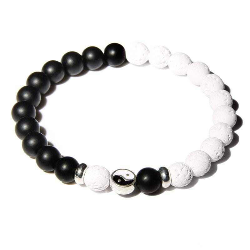 ying yang friendship bracelet