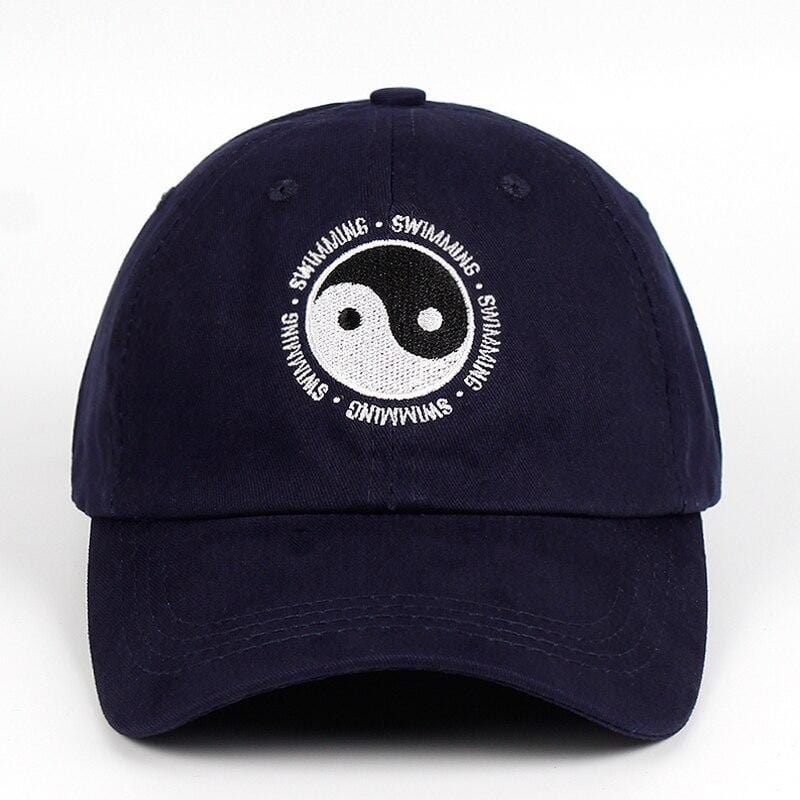 swimming yin yang hat