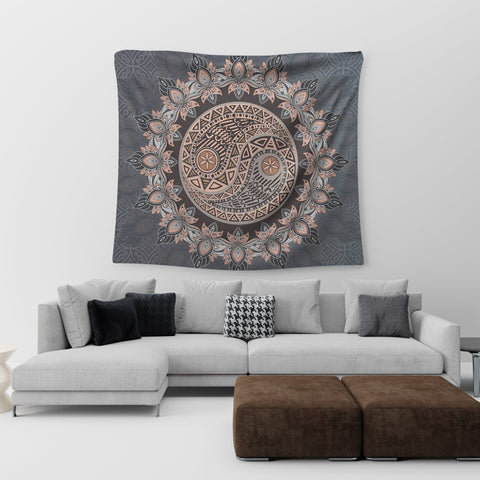 large wall tapestry mandala