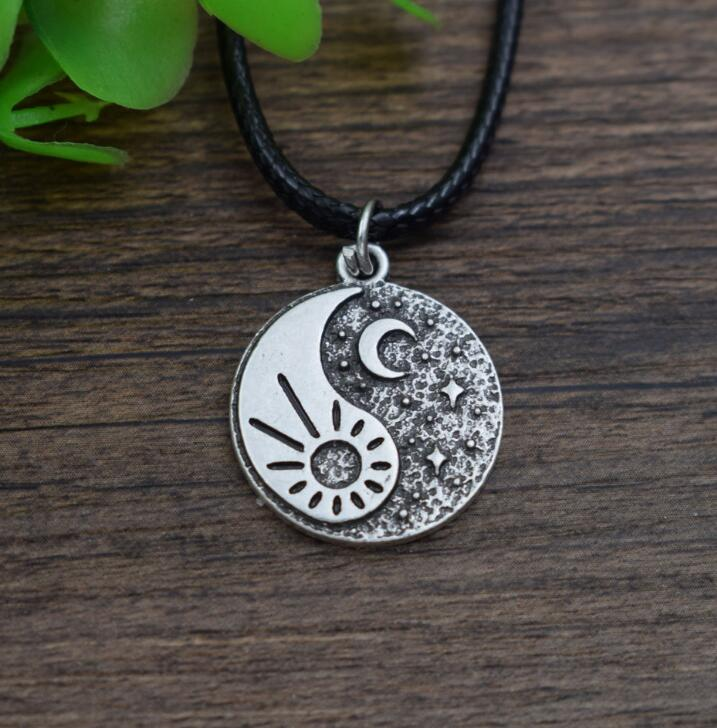 sun and moon necklaces friendship