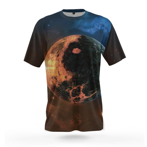 dripping yin yang shirt