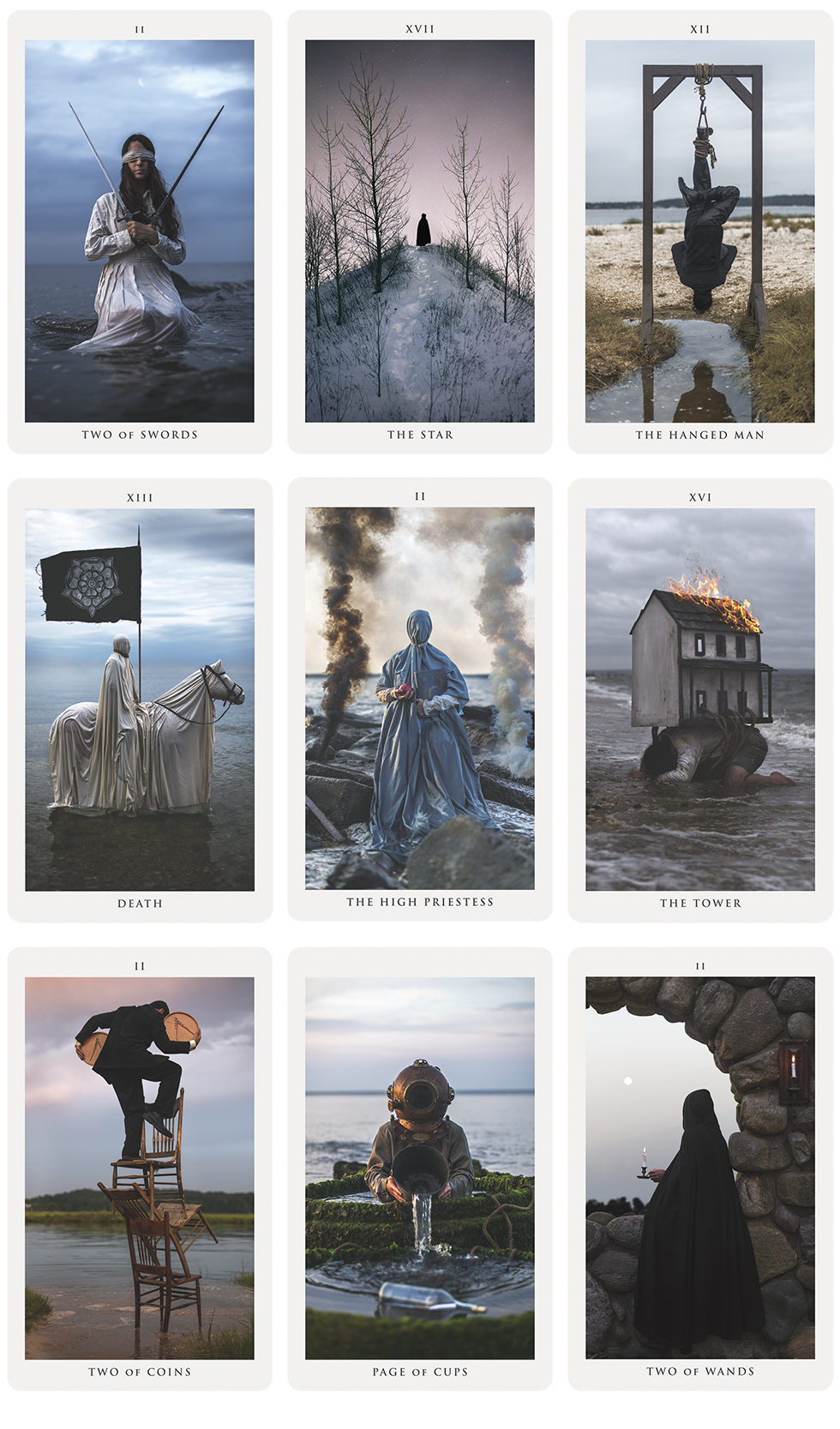Explore the world of Tarot through the visions of Nicolas Bruno, an artist who transforms his dreams and nightmares into surreal imagery.