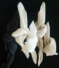 Load image into Gallery viewer, Pleated Napkin: Linen Lunch