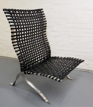 Load image into Gallery viewer, Jean Nouvel Milana Relax Chair (black leather)