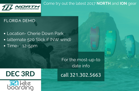 North kiteboarding demo
