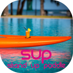 SUP Stand Up Paddle Cocoa Beach