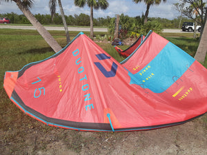 Used 2020 Duotone Juice 15m - 321Kiteboarding & Watersports