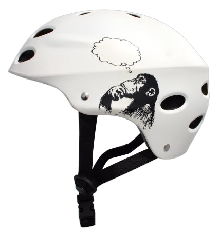 MBS HELMET - BRIGHT IDEA - WHITE - 321Kiteboarding & Watersports