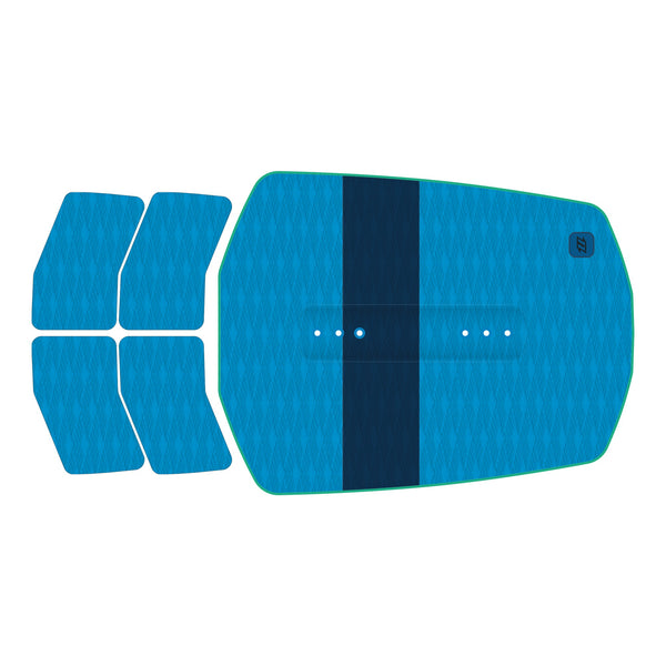 North Traction Pad Front Blue