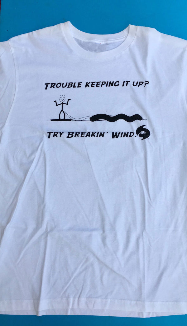 Breakin Wind Humor T shirt - 321Kiteboarding & Watersports