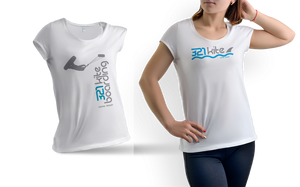 321 Kiteboarding Women's logo t-shirt