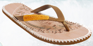 Brasileras Mens Graphic Flip Flops - 321Kiteboarding & Watersports