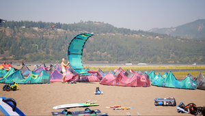 Kiteboarding Vacation- Hood River 2019