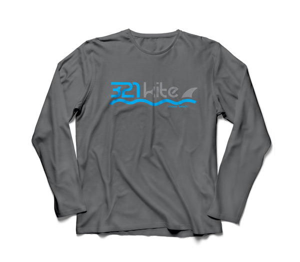 321 Kite Men's Logo Water T Shirt Long Sleeve